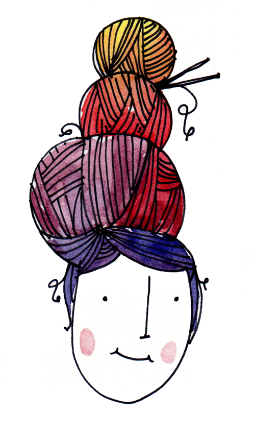 500x860 Hello Niccoco Design By Nicole Duquette Miss Yarn Hair Gtgt A Doodle