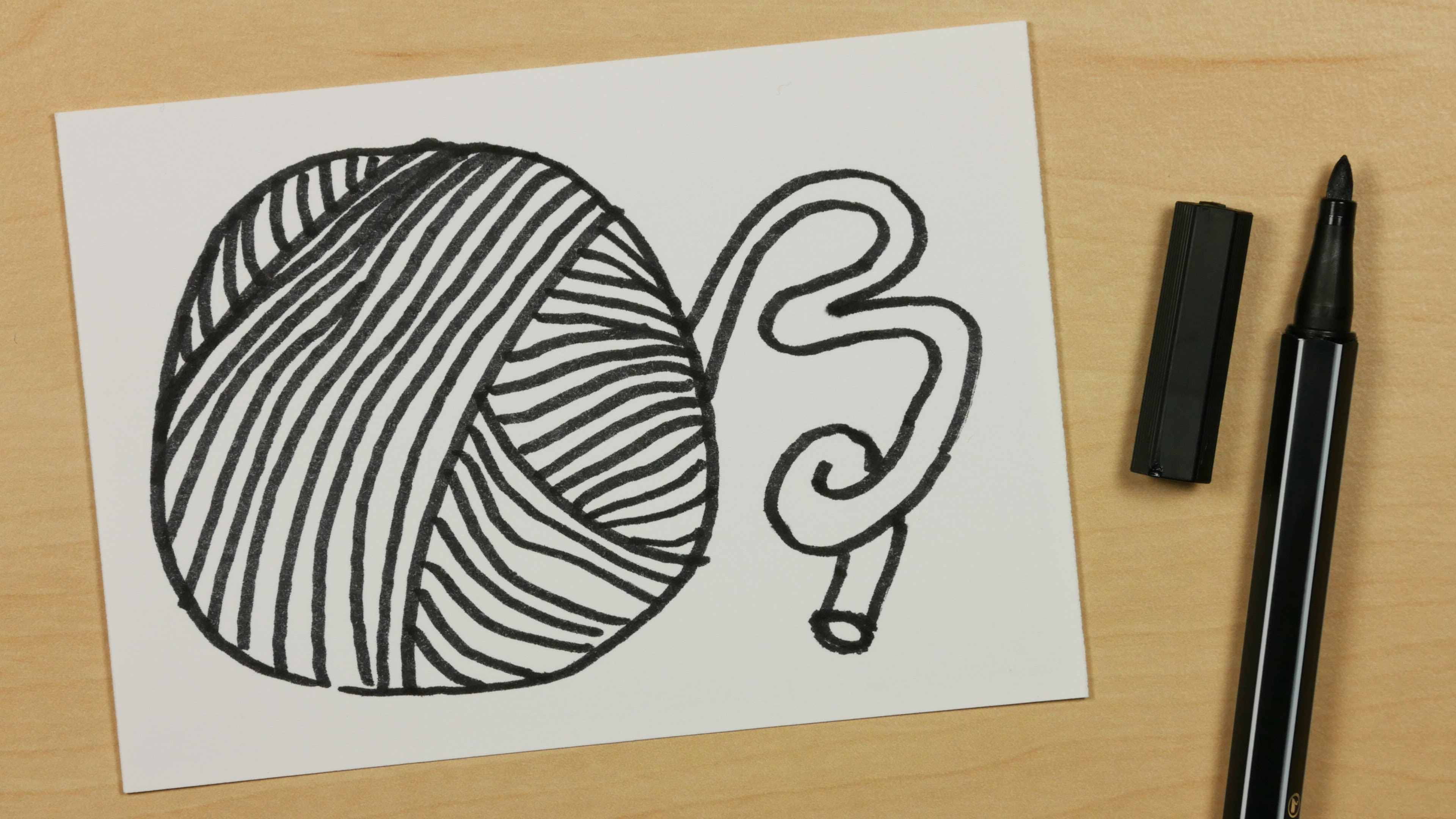 3840x2160 How To Draw A Wool Or Yarn