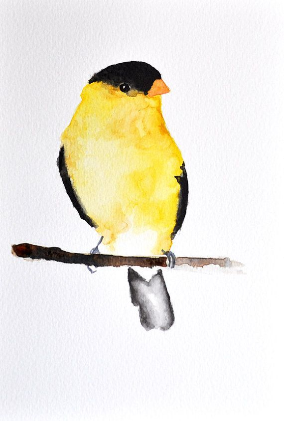 570x845 Original Watercolor Painting