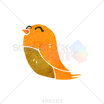 340x340 Stock Illustration Of Side View Cartoon Drawing Of A Singing