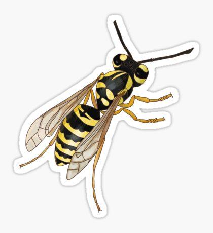 420x460 Yellow Jacket Vespula Maculifrons Sticker Hornet, Wasp, Drawing