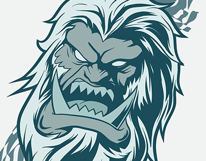 404x316 Check Out New Work On My @behance Portfolio Angry Yeti Face