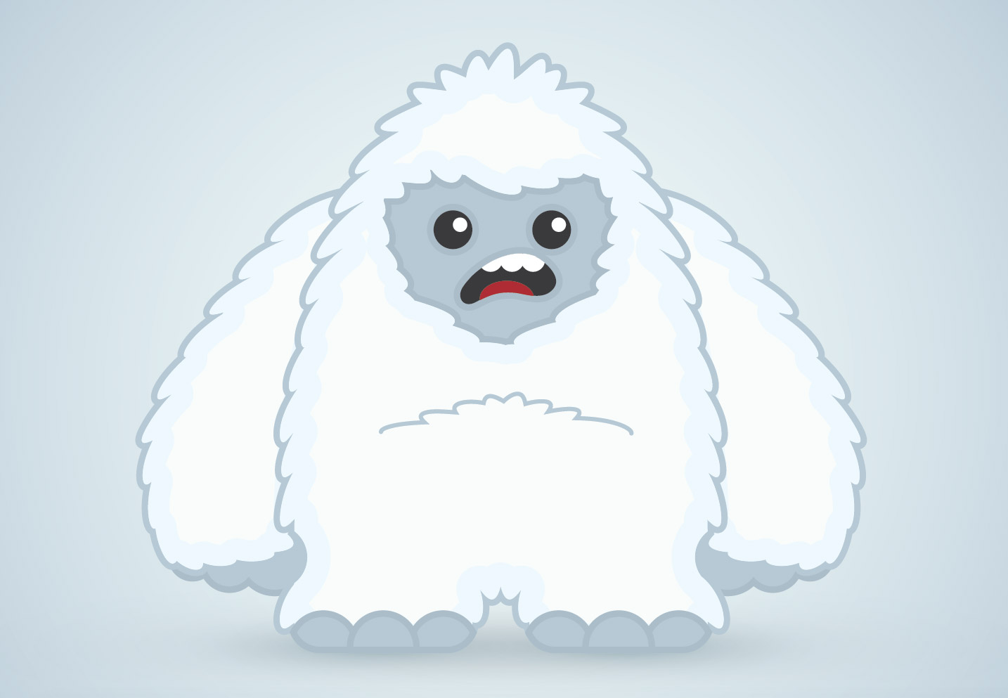 1434x993 How To Create A Cool Vector Yeti Character In Illustrator
