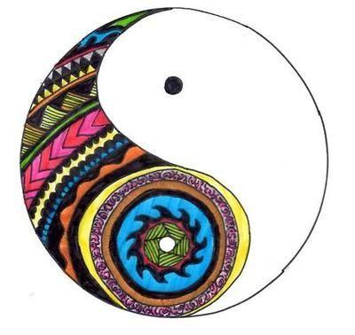 400x378 Hannah Art Post Art Create Yin And Yang Drawing Design Yin Yang