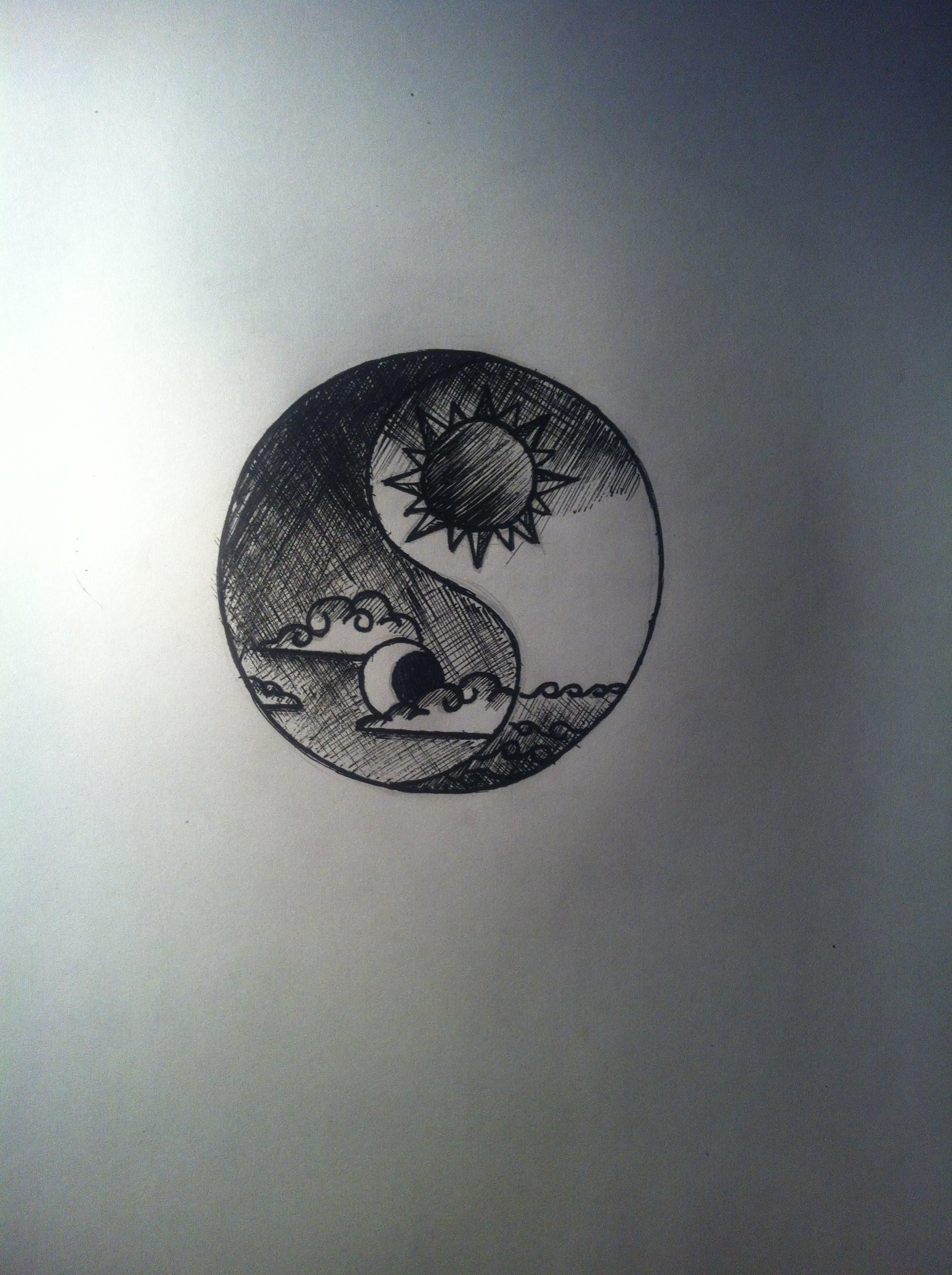 1936x2592 Yin Yang Drawing Tutorial