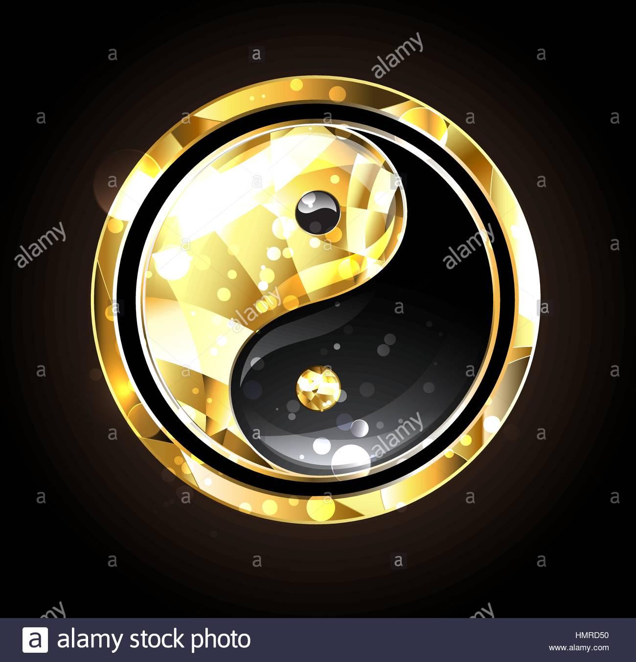 1300x1355 Drawing Yin Yang Abstract Symbol Stock Photos Amp Drawing Yin Yang
