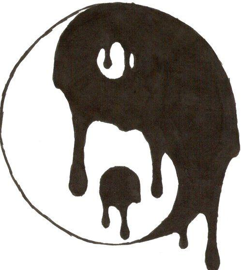 500x558 Yin Yang Melt Realcontent Yin Yang, Draw