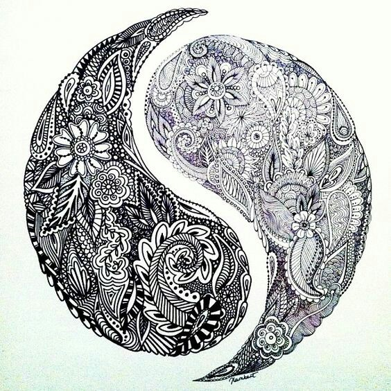564x564 Polynesian Ying Yang Design. Your Dankness Is Just As Beautiful As