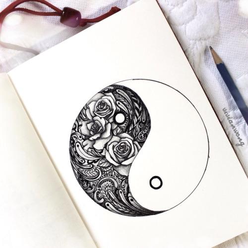 500x500 Ying Yang Via Tumblr A R T Tattoo, Piercings