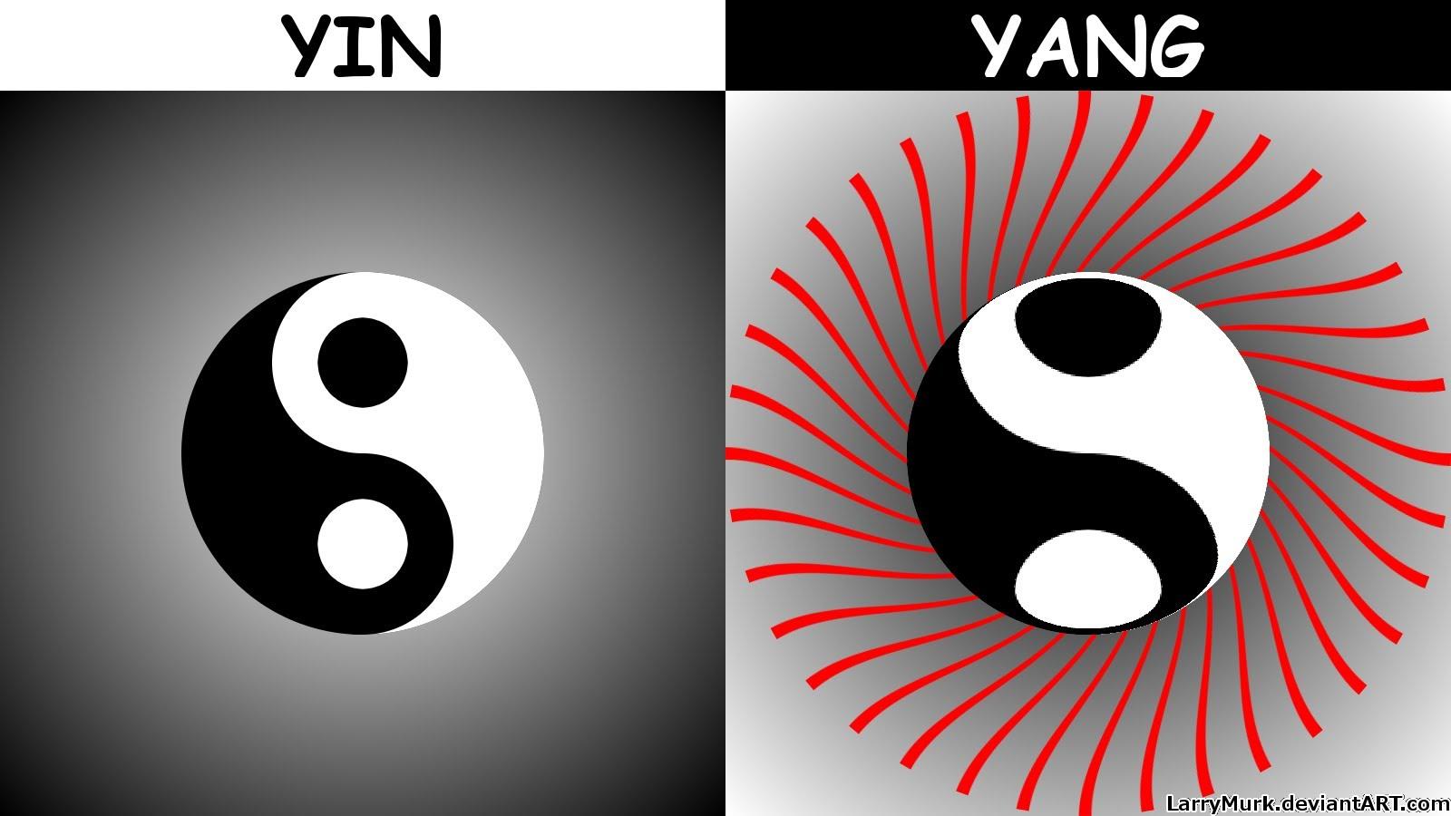 1600x900 Yin Yang Chinese Symbol Draw Gimp