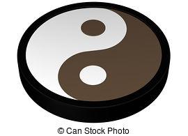 270x195 Yin Yang Symbol Isolated On White Background Stock Illustration