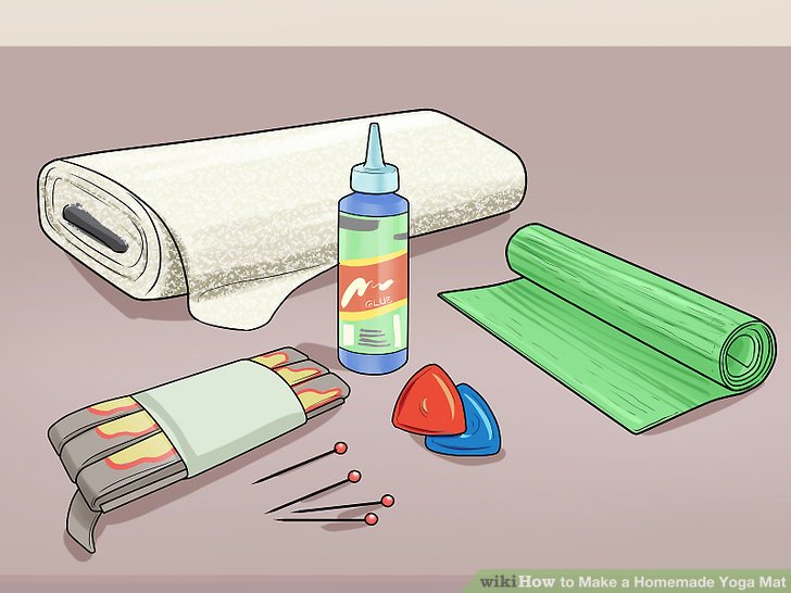 728x546 How To Make A Homemade Yoga Mat 11 Steps (With Pictures)