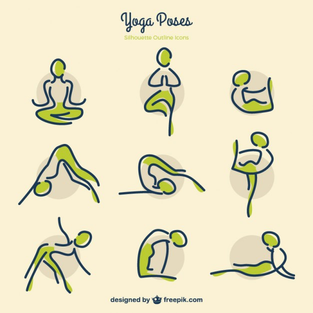 Yoga Poses Drawing at GetDrawings com | Free for personal