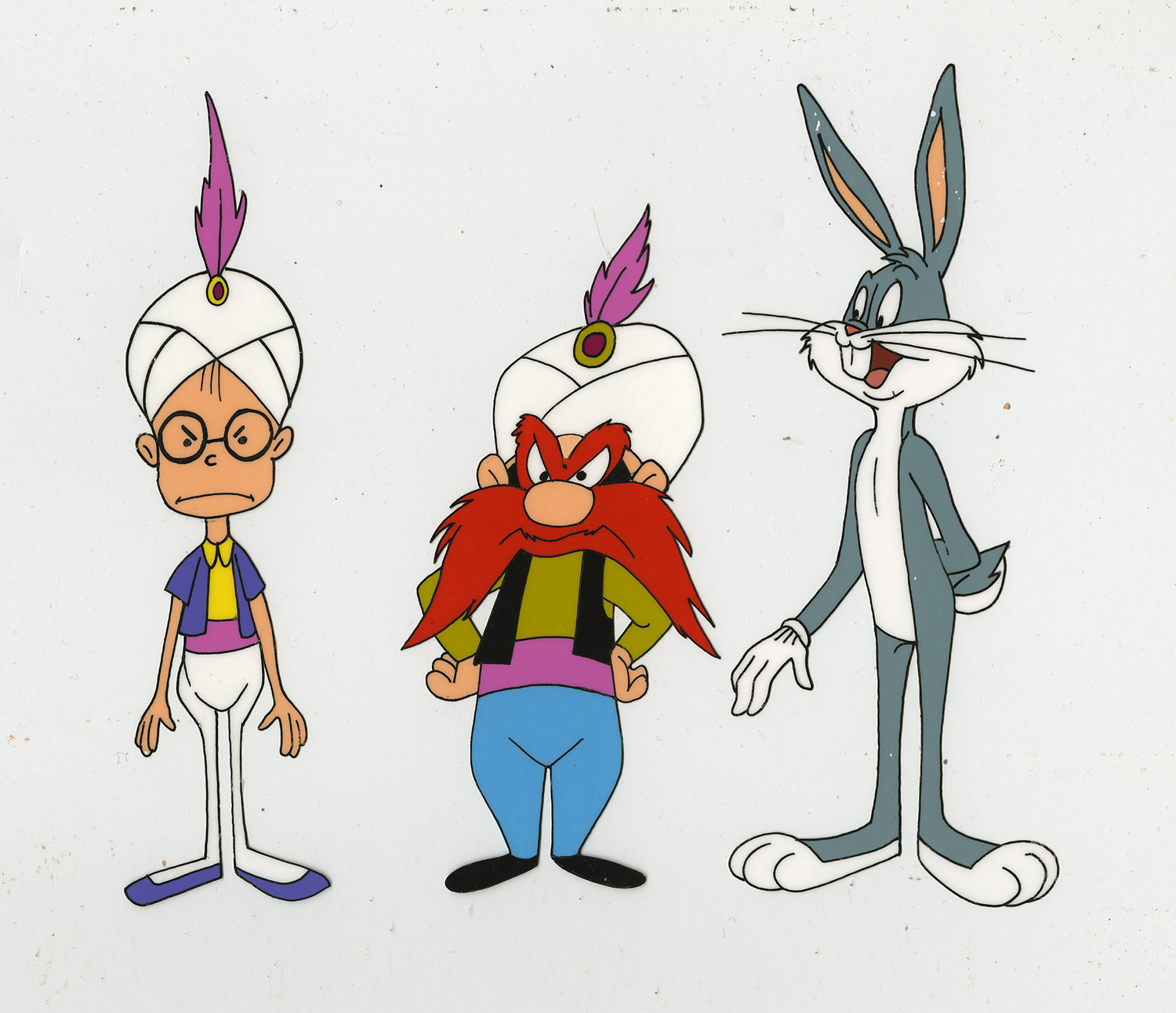 1500x1292 Bugs Bunny And Yosemite Sam Production Cel