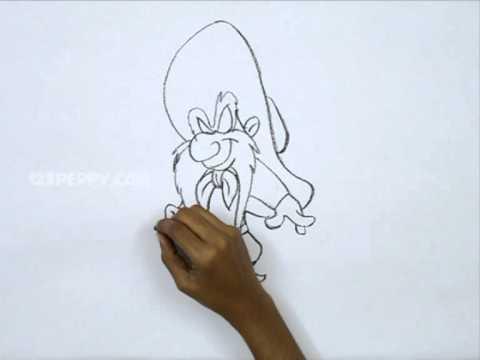 480x360 How To Draw Yosemite Sam