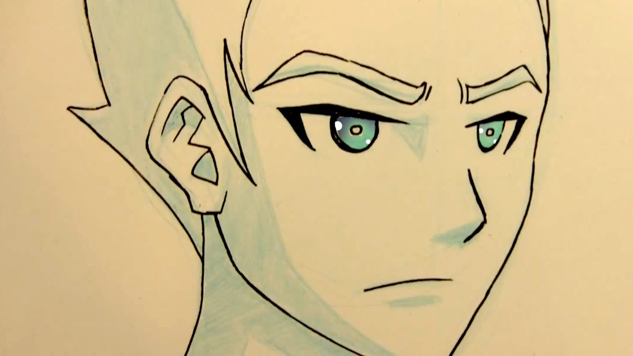 1280x720 Anime Shading Techniques Manga Face