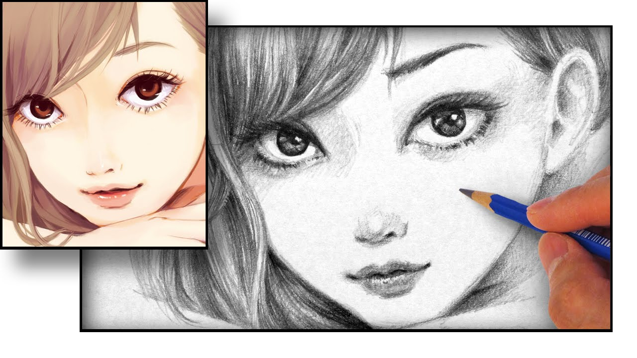 1280x720 Drawing Anime Faces How To Draw An Anime Face