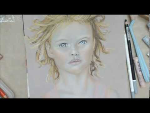 480x360 Drawing Faces With Pastels