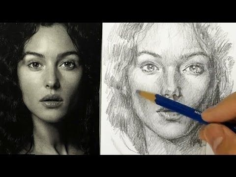 480x360 How To Draw And Shade A Face