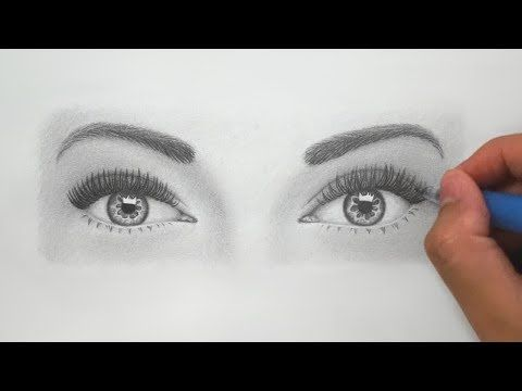 480x360 How To Draw Realistic Eyes For Beginners