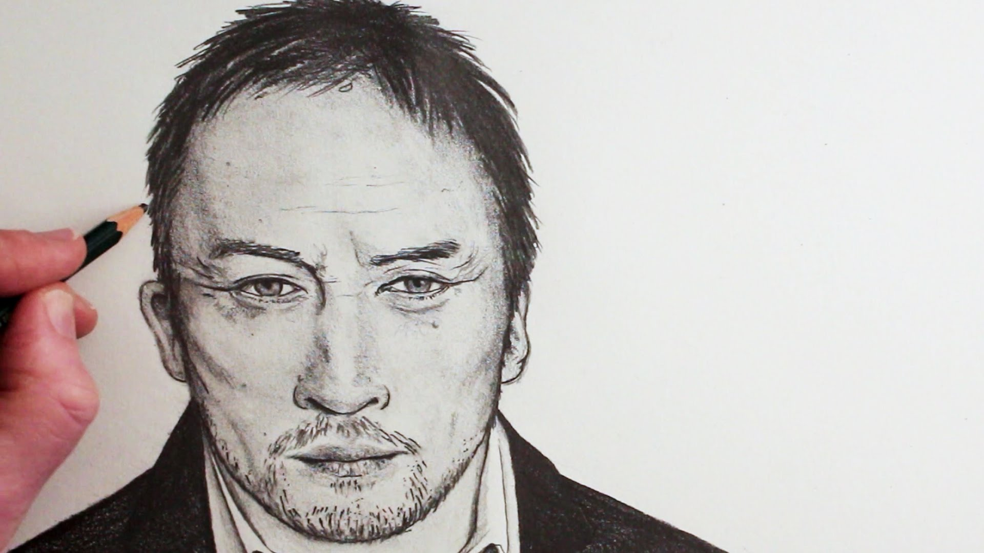 1920x1080 How To Draw A Face Of A Man Step By Step
