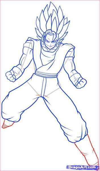 352x602 Dragon Ball Z Drawings Step By Step