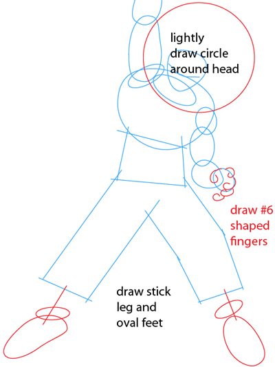 400x534 How To Draw Goku From Dragon Ball Z Series With Simple Steps