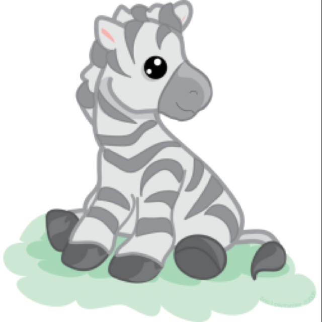 640x640 Baby Zebra Cartoon Zebra's Cartoon, Babies