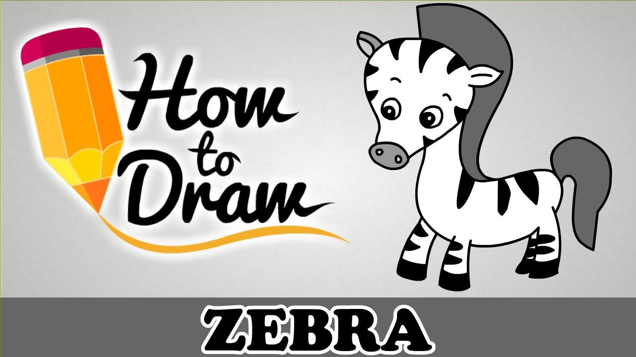 1280x720 How To Draw A Zebra
