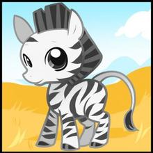 220x220 How To Draw How To Draw A Zebra For Kids