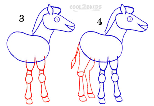 507x350 How To Draw A Zebra (Step By Step Pictures) Cool2bkids