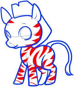 257x302 How To Draw How To Draw A Zebra For Kids