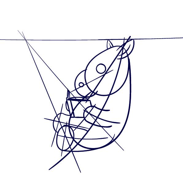 596x597 Learn How To Draw A Zebra