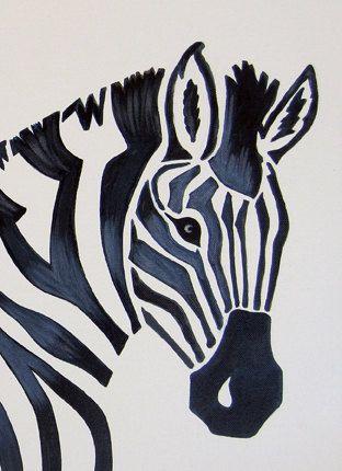 312x430 100 Best Cebras Images On Zebra Art, Paint And Zebra