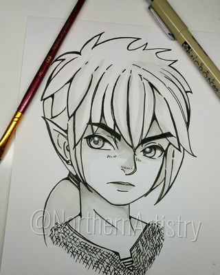 320x400 Link Drawings On Paigeeworld. Pictures Of Link