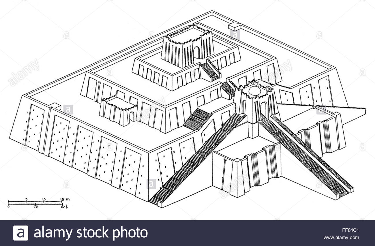 Ziggurat Drawing At Getdrawings Free Download