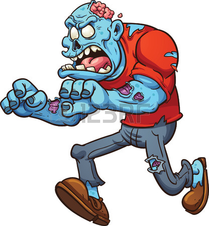 416x450 Cartoon Zombie Stock Photos. Royalty Free Business Images