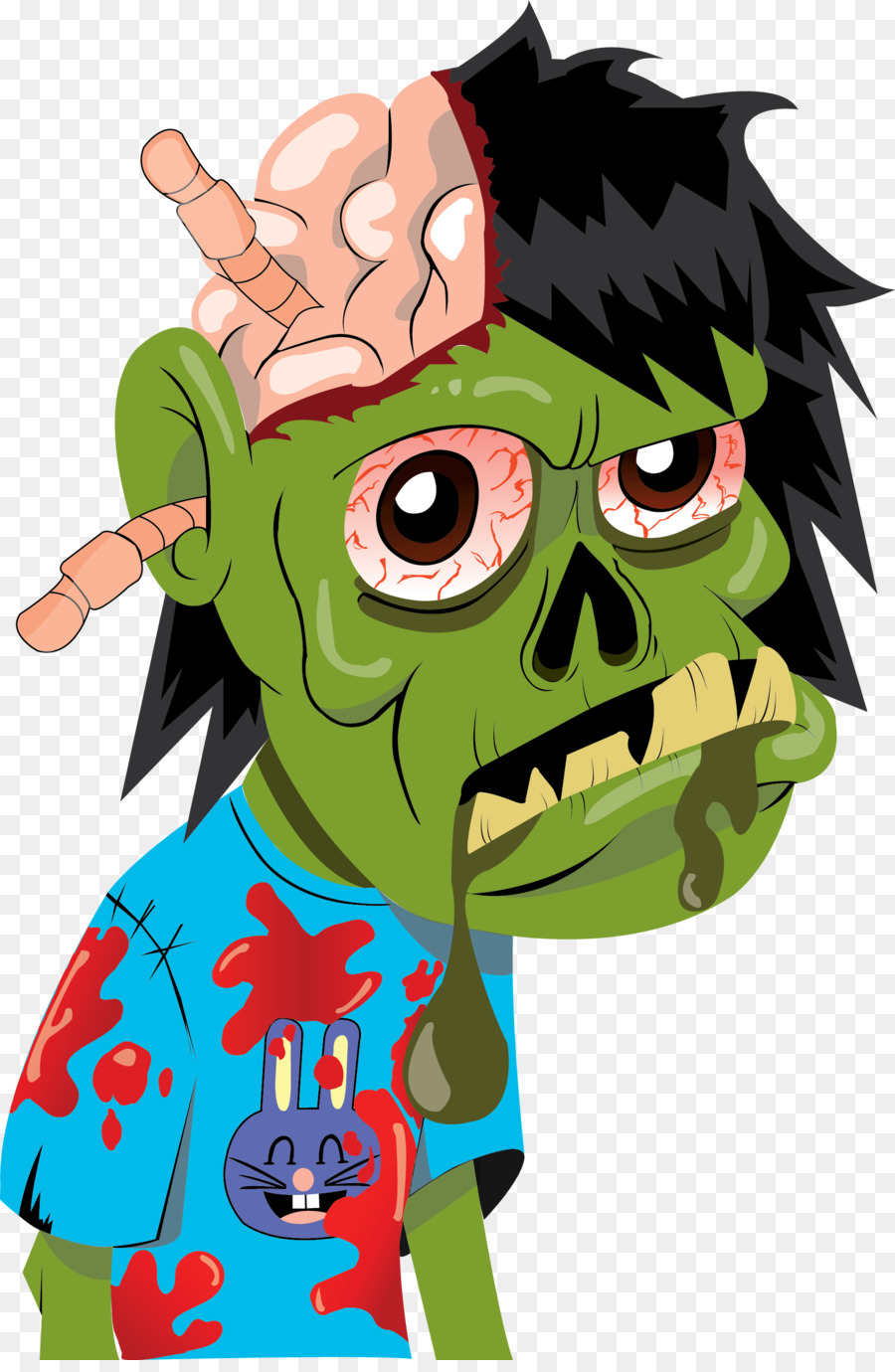 Zombie Drawing Cartoon at GetDrawings | Free download