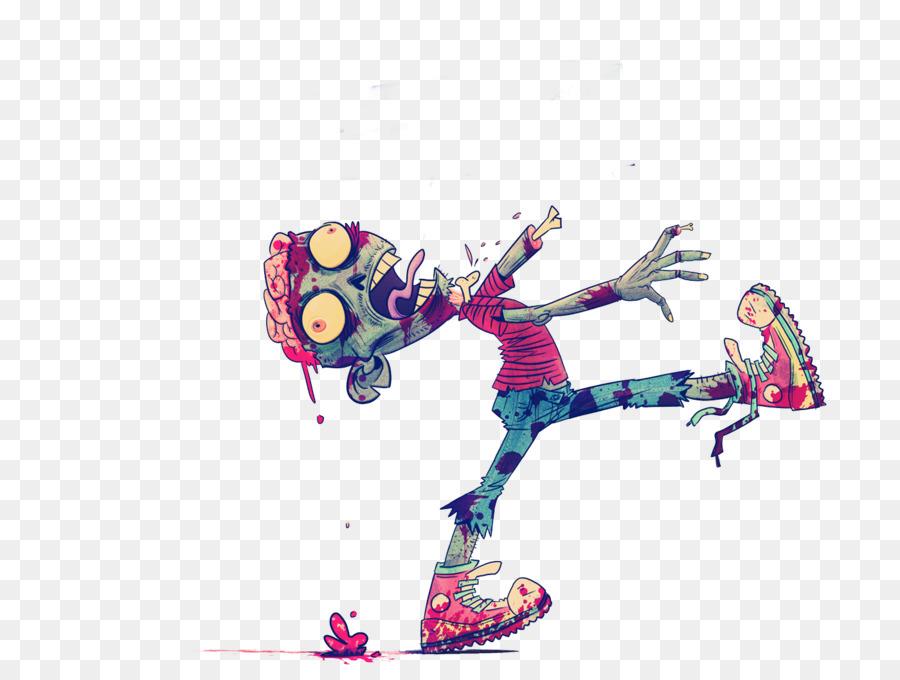 900x680 Zombie Drawing Cartoon Illustration