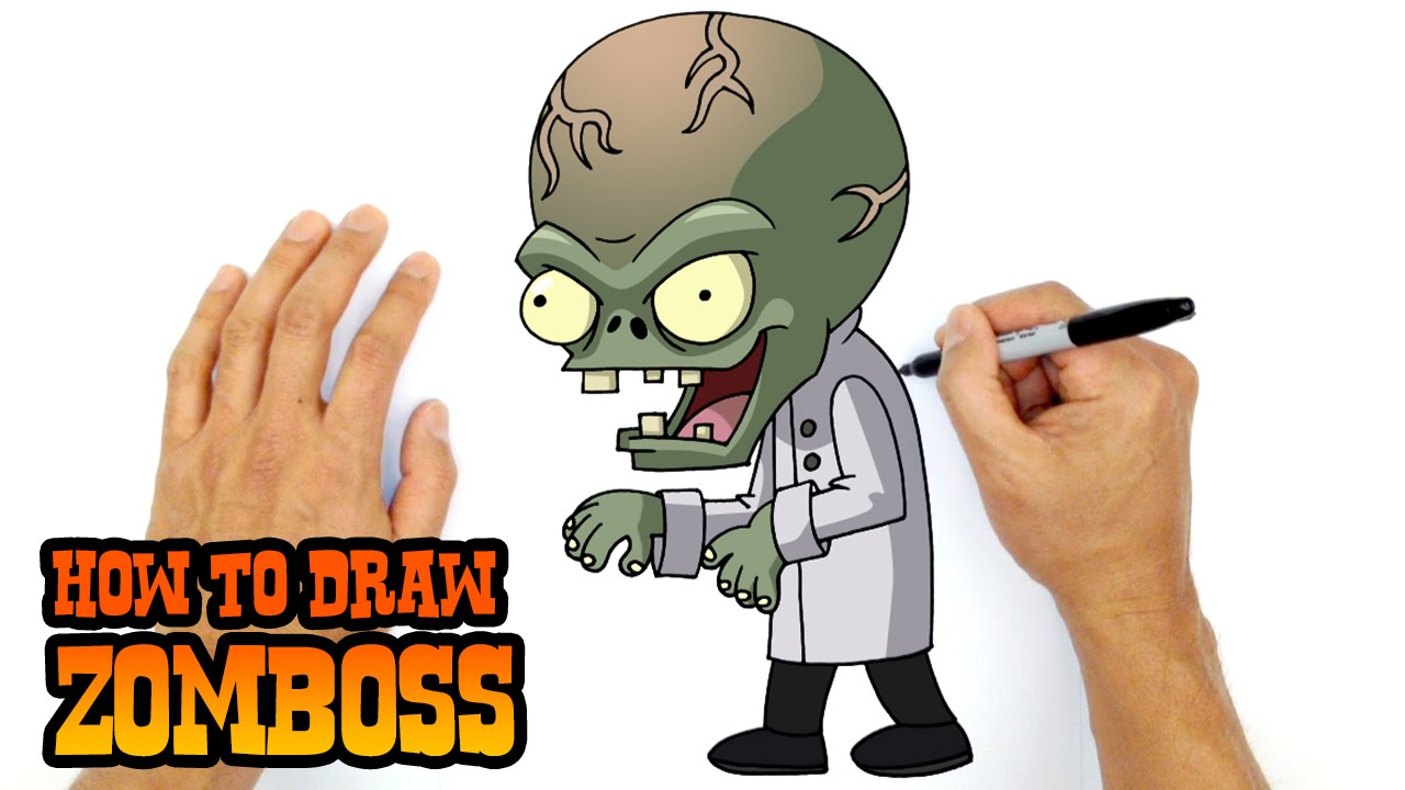 1280x720 How To Draw Zomboss Plants Vs Zombies