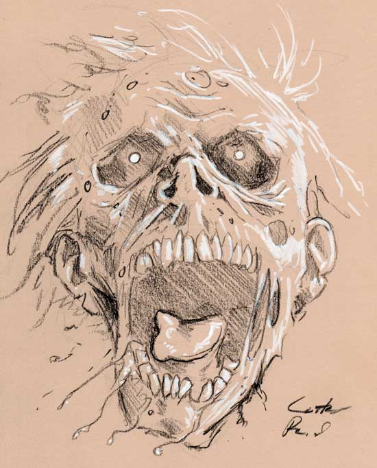 550x682 Zombie Drawings Daily Zombie Drawing Gross Zombie Zombies