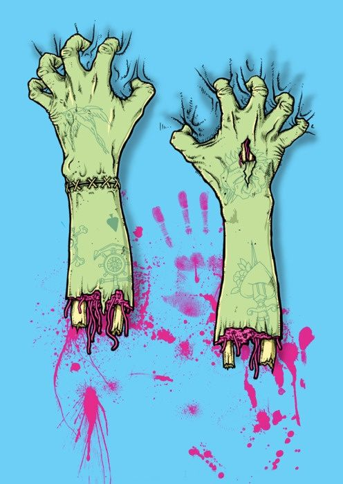 496x700 Zombie Hands!!!!!!!!!!!!!! @philip Williams Williams Williams Lara