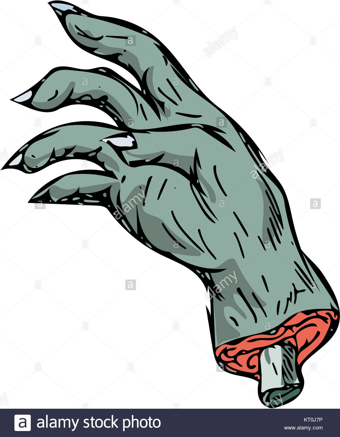 1083x1390 Zombie Monster Hand Drawing Stock Photo 169659386