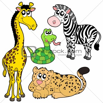 340x340 Image 1078860 Zoo Animals Collection 2 From Crestock Stock Photos