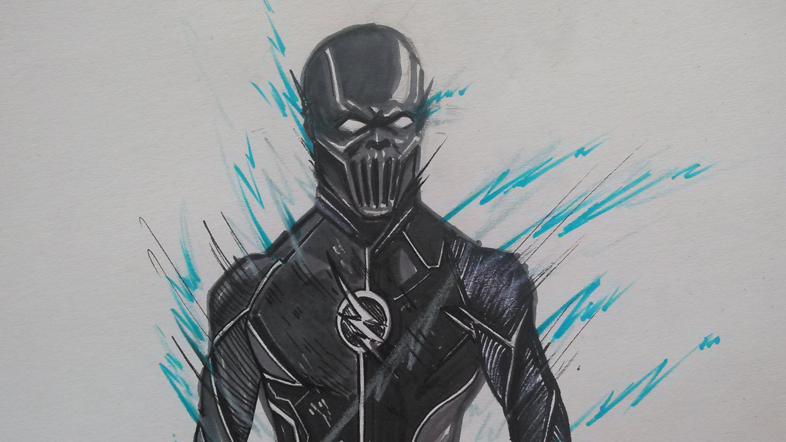 2560x1440 Drawing Zoom From The Flash
