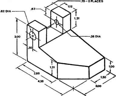 383x317 Figure Isometric Dimensions