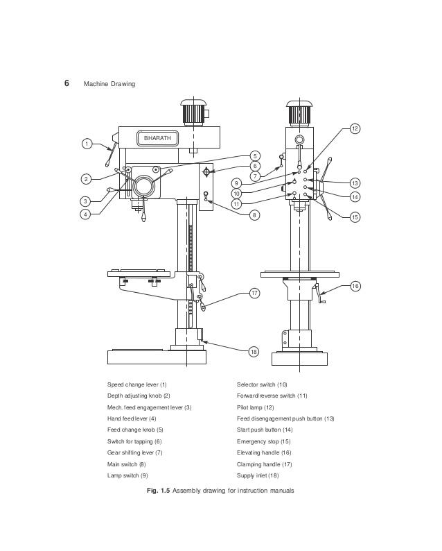 638x794 Machine Drawing