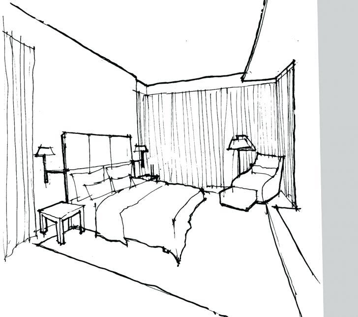 728x644 Interior Design Bedroom Sketches Interior Sketches Bedroom Living