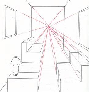 291x300 Using Two Point Perspective Drawings Living Room