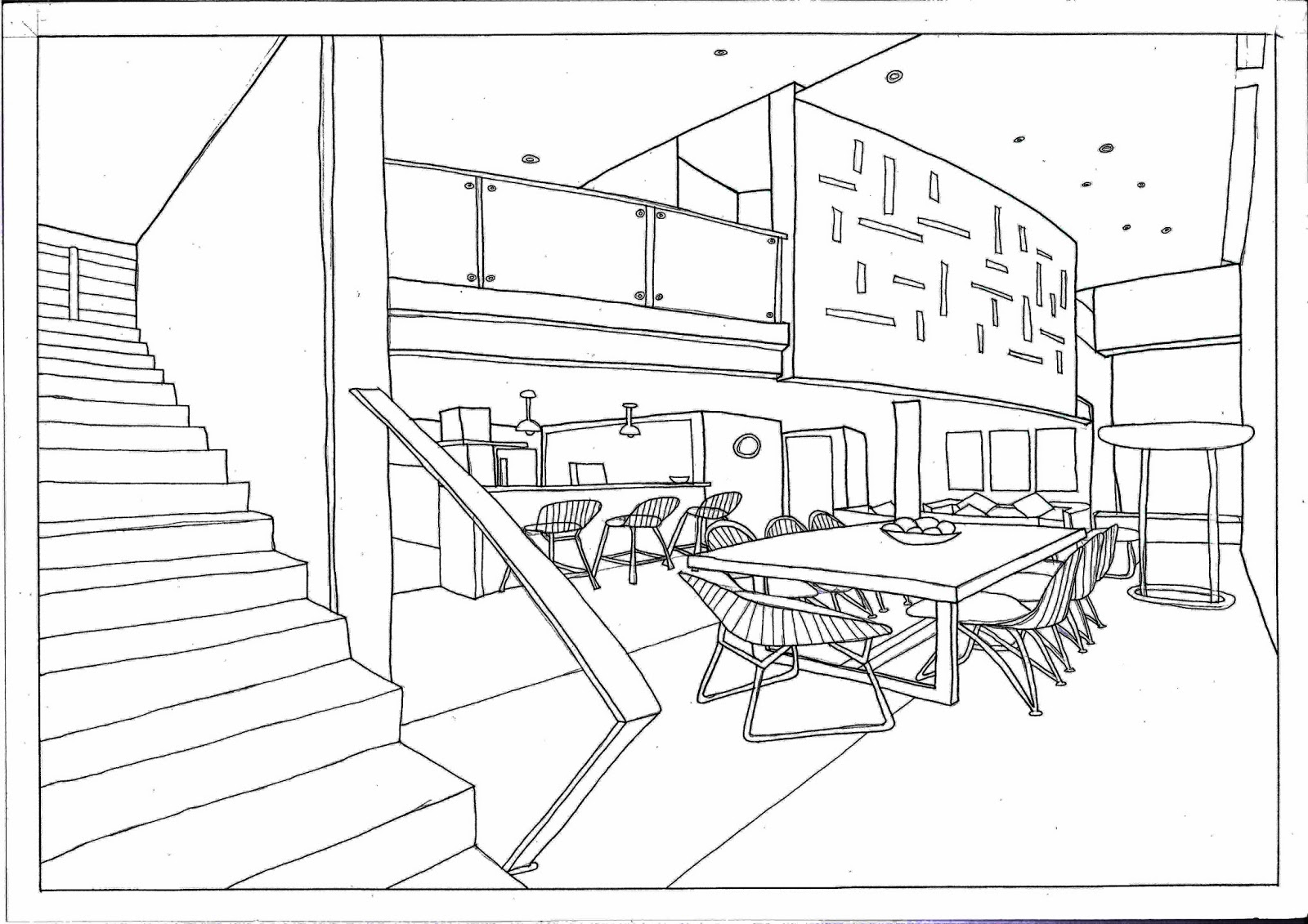 1600x1131 2 Point Perspective Designed By Sea